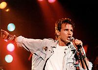 December 28, 1984 File Poto - Corey Hart in concert