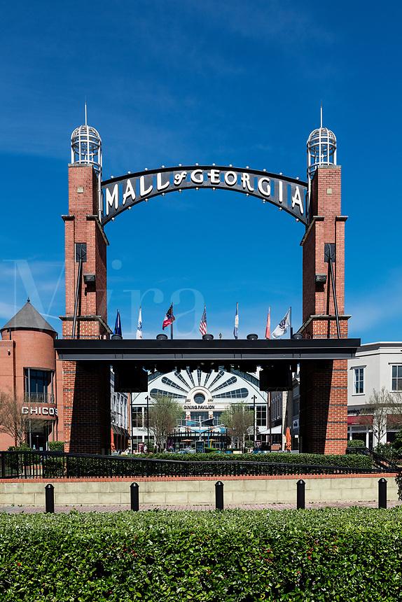 The Mall of Georgia entrance, Beuford, Georgia, USA.