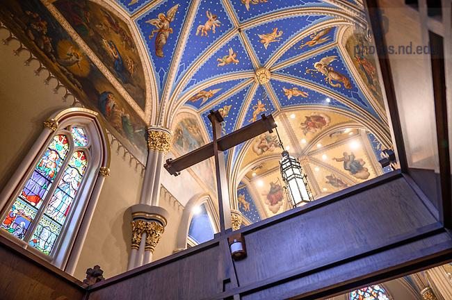 April 10, 2021; Basilica of the Sacred Heart (Photo by Matt Cashore/University of Notre Dame)