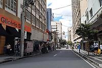 Campinas (SP), 15/02/2021 - Comércio-SP - Movimentação no centro de Campinas nesta segunda-feira (16).