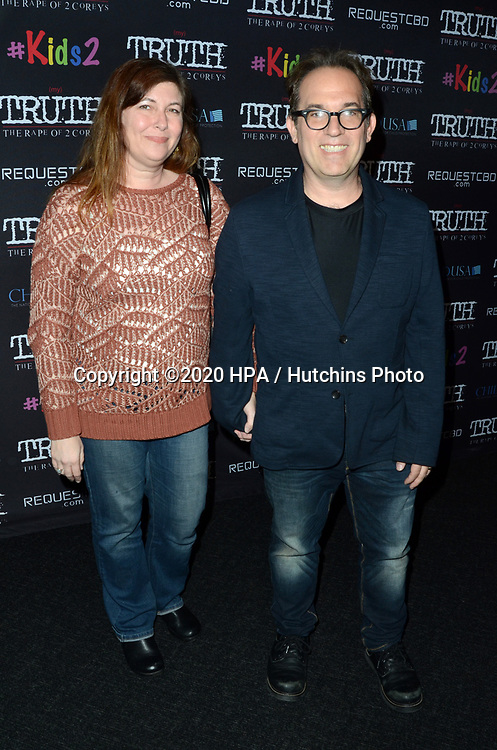 """LOS ANGELES - MAR 9:  Jamison Newlander at the """"(My) Truth: The Rape of 2 Coreys"""" L.A. Premiere at the DGA Theater on March 9, 2020 in Los Angeles, CA"""