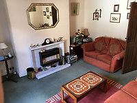 BNPS.co.uk (01202 558833)<br /> Pic: HostUnusual/BNPS<br /> <br /> Fans of TV sitcom Last of the Summer Wine are booking out the iconic cottage where unlikely sex symbol Nora Batty lived after it has been turned into a holiday let.<br /> <br /> The exterior of the terraced house in Holmfirth, West Yorks, featured in dozens of episodes of the much-loved BBC show.<br /> <br /> Yorkshire battleaxe Nora Batty - played by the late actress Kathy Staff - was more often than not filmed sweeping the steps of the two bedroom cottage and chasing off the unwanted attentions of Bill Owen's character Compo.<br /> <br /> In real life the property - 28 Huddersfield Road - is owned by Richard and Loretta Skelton who run it as a successful self-catering holiday home.