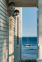 Waterfront beach house, Provincetown, Cape Cod, Massachusetts, USA.