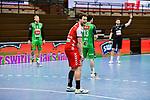 n03Nils Torbruegge beim Spiel in der Handball Bundesliga, TSV GWD Minden - HSG Nordhorn-Lingen.<br /> <br /> Foto © PIX-Sportfotos *** Foto ist honorarpflichtig! *** Auf Anfrage in hoeherer Qualitaet/Aufloesung. Belegexemplar erbeten. Veroeffentlichung ausschliesslich fuer journalistisch-publizistische Zwecke. For editorial use only.