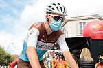 Romain Bardet (FRA) AG2R La Mondiale arrives at sign on before Stage 3 of the Route d'Occitanie 2020, running 163.5km from Saint-Gaudens to Col de Beyrède, France. 3rd August 2020. <br /> Picture: Colin Flockton | Cyclefile<br /> <br /> All photos usage must carry mandatory copyright credit (© Cyclefile | Colin Flockton)