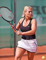 August 24, 2014, Netherlands, Amstelveen, De Kegel, National Veterans Championships, Ingeborg Vonk (NED)<br /> Photo: Tennisimages/Henk Koster
