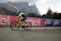 Johan Esteban Chaves (COL/Orica-GreenEDGE) pushing it up<br /> <br /> stage 15 (iTT): Castelrotto-Alpe di Siusi 10.8km<br /> 99th Giro d'Italia 2016