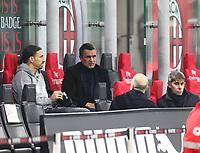 Milano 03-03-2021<br /> Stadio Giuseppe Meazza<br /> Serie A  Tim 2020/21<br /> Milan - Udinese<br /> nella foto:  La dirigenza                                                        <br /> Antonio Saia