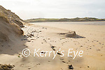 The erosion of the sand cliffs in Poll Gorm on Banna Strand on Saturday morning.