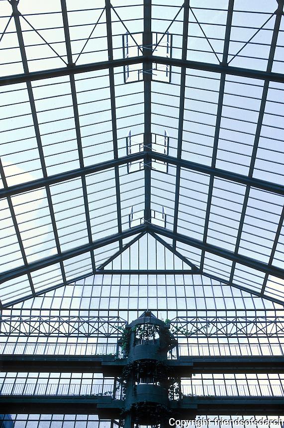 Gottfried Bohm: Zublin Ag HQ, Stuttgart. Roof detail.