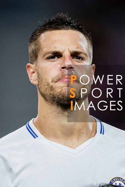 Chelsea Defender Cesar Azpilicueta during the International Champions Cup 2017 match between FC Internazionale and Chelsea FC on July 29, 2017 in Singapore. Photo by Marcio Rodrigo Machado / Power Sport Images
