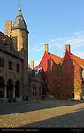 Gruuthuse Museum Courtyard, Bruges, Brugge, Belgium