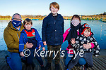 Matthew, Cathel, Erin, Donnacha and Iarle Farrell enjoying a stroll around the Tralee Bay Wetlands on Saturday.