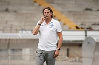 Manager Carsten Wehlmann (SV Darmstadt 98) - 27.08.2020: SV Darmstadt 98 Mannschaftsfoto, Stadion am Boellenfalltor, 2. Bundesliga, emonline, emspor<br /> <br /> DISCLAIMER: <br /> DFL regulations prohibit any use of photographs as image sequences and/or quasi-video.