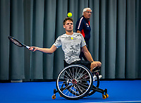 Amstelveen, Netherlands, 22 Augustus, 2020, National Tennis Center, NTC, NKR, National  Wheelchair Tennis Championships, Man's Single final single final , Ruben Spaargaren (NED) <br /> Photo: Henk Koster/tennisimages.com