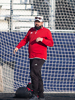DJ Beeler head soccer coach for Springdale. against Rogers at Whitey Smith Stadium, Rogers High School, Rogers, Arkansas, on Friday, April 2, 2021 / Special to NWA Democrat Gazette David Beach