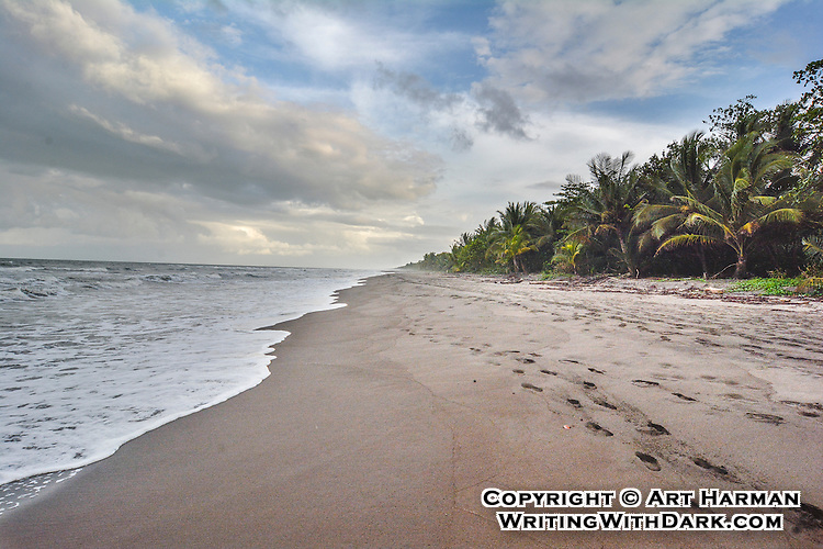 Tortuguero_Beach by Art Harman. A fascinating refuge on Costa Rica's Caribbean coast for wildlife of all sorts.