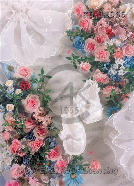 Interlitho, Helga, BABIES, photos, baby-shoes, flowers(KL16066,#B#) bébé