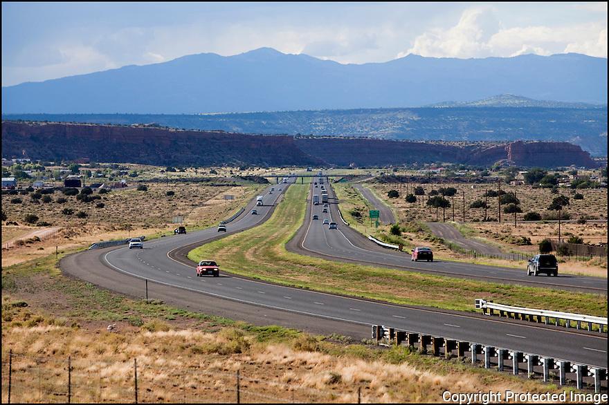 Nouveau Mexique-Route 66<br /> Sur la route de Gallup
