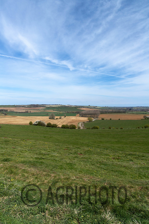 26-4-2021 Agricultural landscapes on the Lincolnshire Wolds <br /> ©Tim Scrivener Photographer 07850 303986<br />      ....Covering Agriculture In The UK....