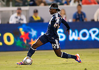 CARSON, California - June 23, 2012: The LA Galaxy  defeated the Vancouver Whitecaps 3-0 during a Major League Soccer (MLS) game at Home Depot Center stadium.