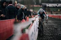 Michael Vanthourenhout (BEL/Marlux-Bingoal)<br /> <br /> Elite Men's Race<br /> Belgian National CX Championschips<br /> Kruibeke 2019