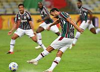 2nd June 2021; Maracana Stadium, Rio de Janeiro, Brazil; Copa do Brazil, Fluminense versus Red Bull Bragantino; Nenê of Fluminense takes a shot at goal