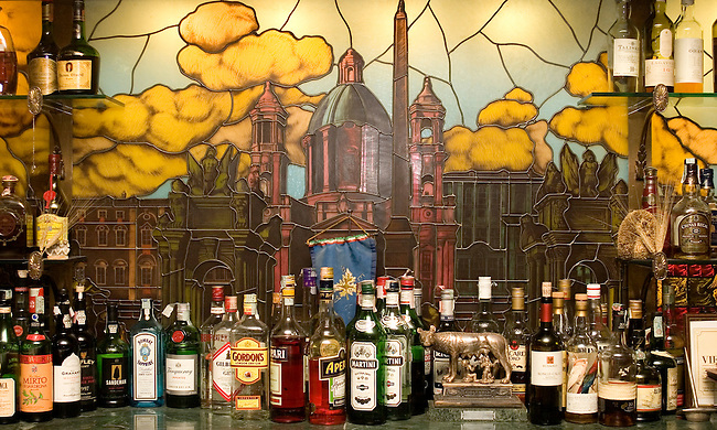Bar, Pauline Restaurant, Rome, Italy
