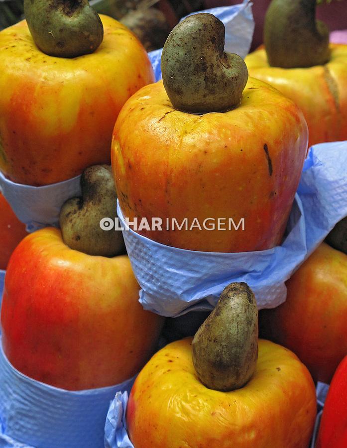 Alimentos. Frutas. Cajú. Foto de Manuel Lourenço.