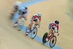 Leung Chun Wing of the SCAA competes in the Men Elite - Omnium II Tempo Race 10km category during the Hong Kong Track Cycling National Championships 2017 at the Hong Kong Velodrome on 18 March 2017 in Hong Kong, China. Photo by Chris Wong / Power Sport Images