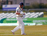 Darren Stevens of Kent trudges off after being dismissed by Matt Parkinson during Kent CCC vs Lancashire CCC, LV Insurance County Championship Group 3 Cricket at The Spitfire Ground on 24th April 2021