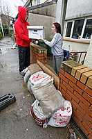 2020 03 04 Revisiting the flood affected areas in Pontypridd, Wales, UK