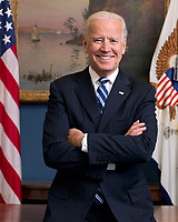 WASHINGTON - FEBRUARY 2013: Vice President Joe Biden poses for the official portrait in the White House in Washington, DC.<br /> <br /> People:  Vice President Joe Biden<br /> <br /> Transmission Ref:  FLXX<br /> <br /> Must call if interested<br /> Michael Storms<br /> Storms Media Group Inc.<br /> 305-632-3400 - Cell<br /> 305-513-5783 - Fax<br /> MikeStorm@aol.com<br /> www.StormsMediaGroup.com