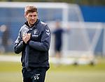 09.05.2019 Rangers training: Steven Gerrard