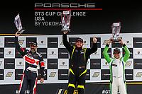 Race 2, Gold Podium, #27 NGT Motorsport, Porsche 991 / 2017, GT3G: Sebastian Carazo, #5 Moorespeed, Porsche 991 / 2016, GT3G: Rob Ferriol, #17 ACI Motorsports, Porsche 991 / 2014, GT3G: Curt Swearingin
