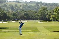 STANFORD, CA - APRIL 23: Yuki Yoshihara at Stanford Golf Course on April 23, 2021 in Stanford, California.