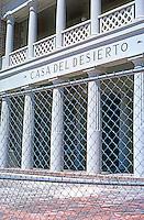 Barstow CA: Santa Fe Depot. Central portion. Photo '99.