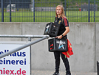 Belgian Julie Biesmans pictured during a friendly female soccer game between the national teams of Luxemburg and Belgium , called the Red Flames  in a preparation towards the qualification for the  FIFA Women's World Cup , on saturday 12 th of June 2021  in Wiltz , Luxemburg . PHOTO SPORTPIX BE   SPP   DAVID CATRY