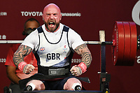 28th August 2021; Tokyo, Japan; YULE Micky (GBR),  Powerlifting : Men's 72kg during the Tokyo 2020 Paralympic Games at the Tokyo International Forum in Tokyo, Japan.