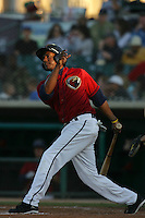 May 2, 2010: Rayner Contreras of the Lancaster JetHawks during game against the Lake Elsinore Storm at Clear Channel Stadium in Lancaster,CA.  Photo by Larry Goren/Four Seam Images