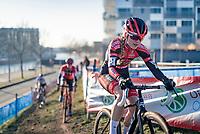 Denise Betsema (NED/Pauwels Sauzen-Bingoal)<br /> <br /> 2020 Urban Cross Kortrijk (BEL)<br /> women's race<br /> <br /> ©kramon