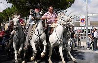 Abrivado (running of the bulls), Nimes, Provence.