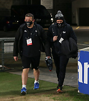 26 February 2021; Osprey Head Coach Toby Booth arriving for the Guinness PRO14 match between Ulster and Ospreys at Kingspan Stadium in Belfast. Photo by John Dickson/Dicksondigital