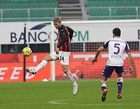 Milano  29-11-2020<br /> Stadio Giuseppe Meazza<br /> Campionato Serie A Tim 2020/21<br /> Milan - Fiorentina<br /> nella foto:  Simon Kjaer                        <br /> foto Antonio Saia Kines Milano