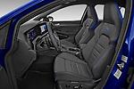 Front seat view of 2021 Volkswagen Golf R 5 Door Hatchback Front Seat  car photos