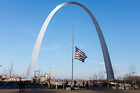 The Gateway Arch is seen on Saturday, Dec. 5, 2015, in St. Louis, Missouri. (Photo by James Brosher)
