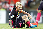 FC Barcelona's Leo Messi during La Liga match. August 28,2016. (ALTERPHOTOS/Acero)