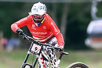 29th August 2021; Commezzadura, Trentino, Italy; 2021 Mountain Bike Cycling World Championships, Val di Sole; Downhill;  Downhill final Junior Women, Valentina Holl (AUT)