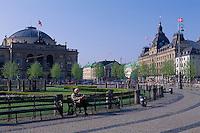 auf dem Kongens Nytorv in  Kopenhagen, Dänemark