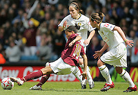 Arsenal vs Leeds United - Womens FA Cup Final at Millwall Football Club - 01/05/06 - Arsenal's Rachel Yankey tries to get in a shot - (Gavin Ellis 2006)